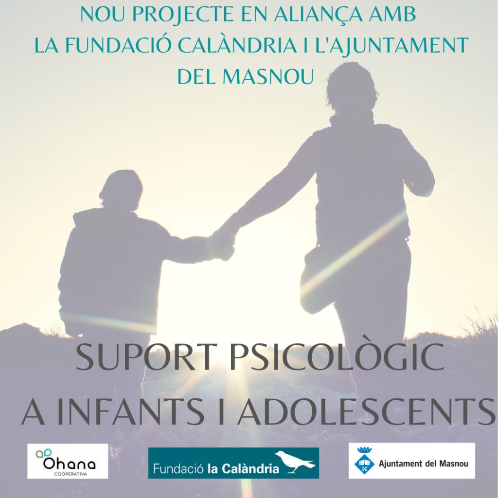 NOU PROJECTE D'OHANA EN ALIANÇA AMB  LA FUNDACIÓ CALÀNDRIA I L'AJUNTAMENT DEL MASNOU